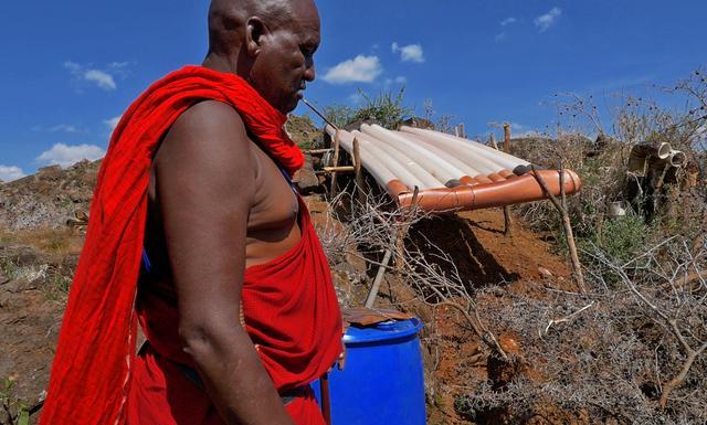 画像: ジェレミーさんの集落では、地熱を生活水に利用していた