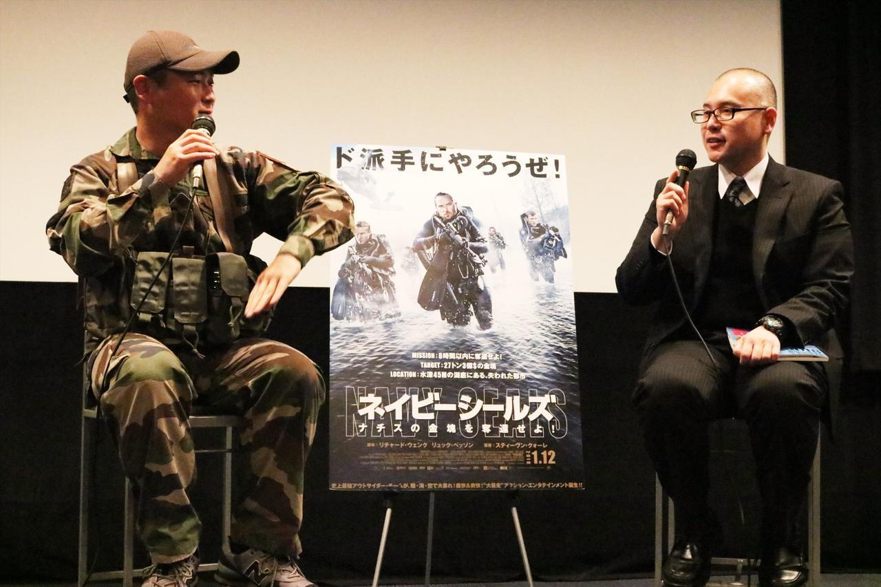 画像: 左より野田力氏、岩本孝太郎氏