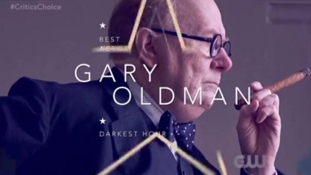 画像: Gary Oldman Wins Critics Choice Awards 2018 youtu.be