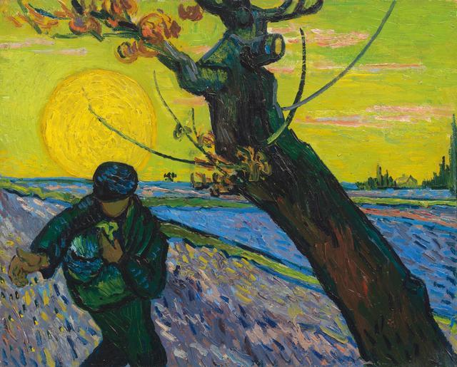 画像: フィンセント・ファン・ゴッホ《種まく人》1888年 ファン・ゴッホ美術館(フィンセント・ファン・ゴッホ財団)蔵 © Van Gogh Museum, Amsterdam (Vincent van Gogh Foundation)