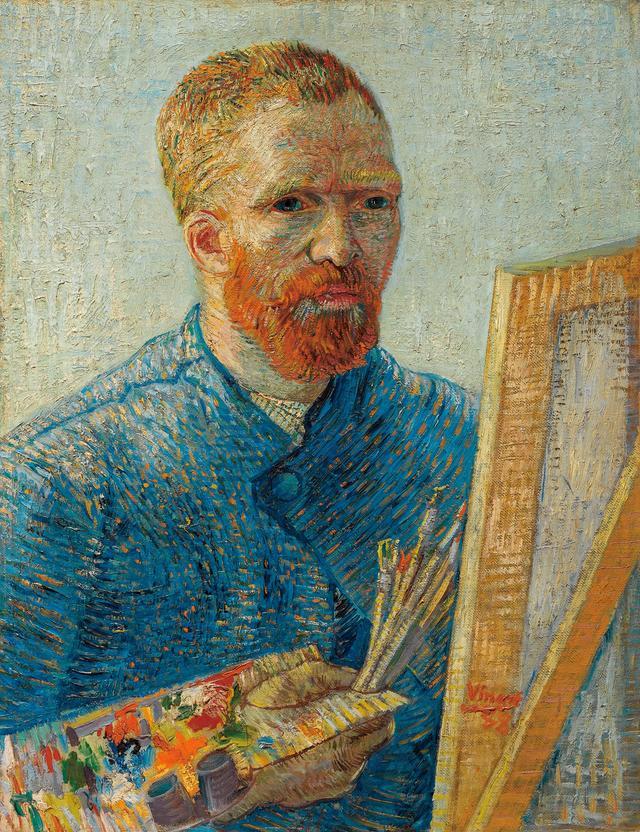 画像: フィンセント・ファン・ゴッホ《画家としての自画像》1887/88年 ファン・ゴッホ美術館(フィンセント・ファン・ゴッホ財団)蔵© Van Gogh Museum, Amsterdam (Vincent van Gogh Foundation)