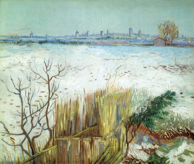 画像: フィンセント・ファン・ゴッホ《雪景色》1888年 個人蔵 © Roy Fox