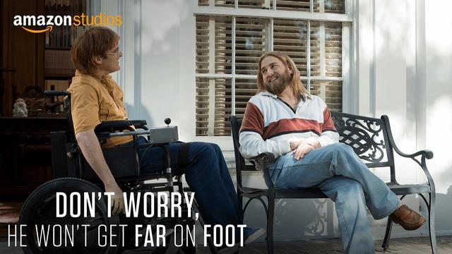 画像: Don't Worry, He Won't Get Far On Foot - Teaser [HD] | Amazon Studios youtu.be
