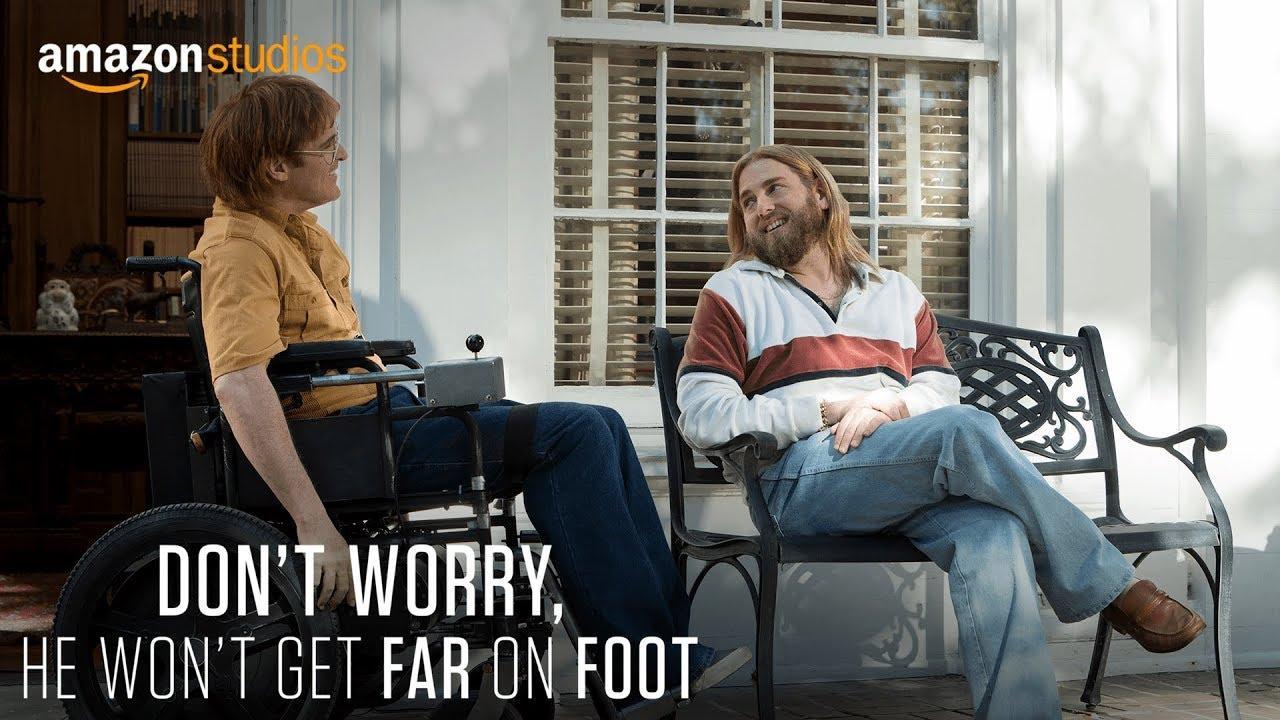 画像: Don't Worry, He Won't Get Far On Foot - Teaser [HD]   Amazon Studios youtu.be
