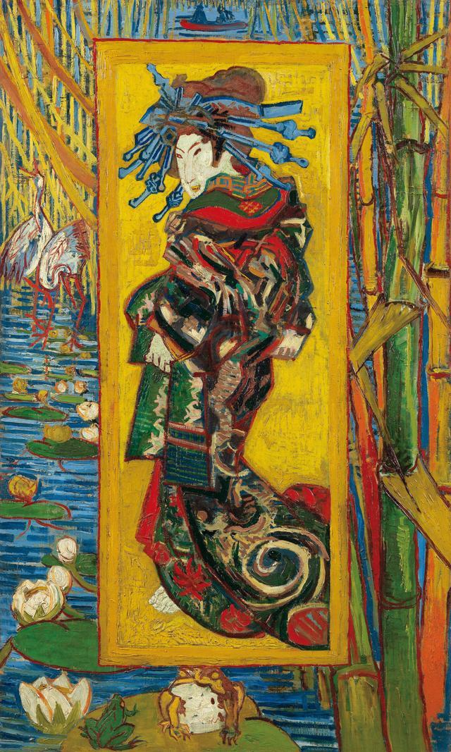 画像: フィンセント・ファン・ゴッホ《花魁(溪斎英泉による)》1887年 ファン・ゴッホ美術館(フィンセント・ファン・ゴッホ財団)蔵© Van Gogh Museum, Amsterdam (Vincent van Gogh Foundation)