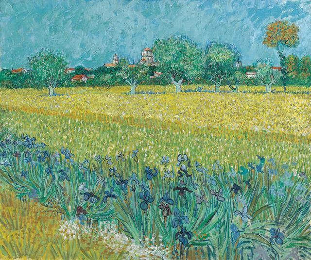 画像: フィンセント・ファン・ゴッホ《アイリスの咲くアルル風景》1888年 ファン・ゴッホ美術館(フィンセント・ファン・ゴッホ財団)蔵© Van Gogh Museum, Amsterdam (Vincent van Gogh Foundation)