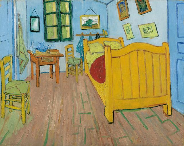 画像: フィンセント・ファン・ゴッホ《寝室》1888年 ファン・ゴッホ美術館(フィンセント・ファン・ゴッホ財団)蔵© Van Gogh Museum, Amsterdam (Vincent van Gogh Foundation)