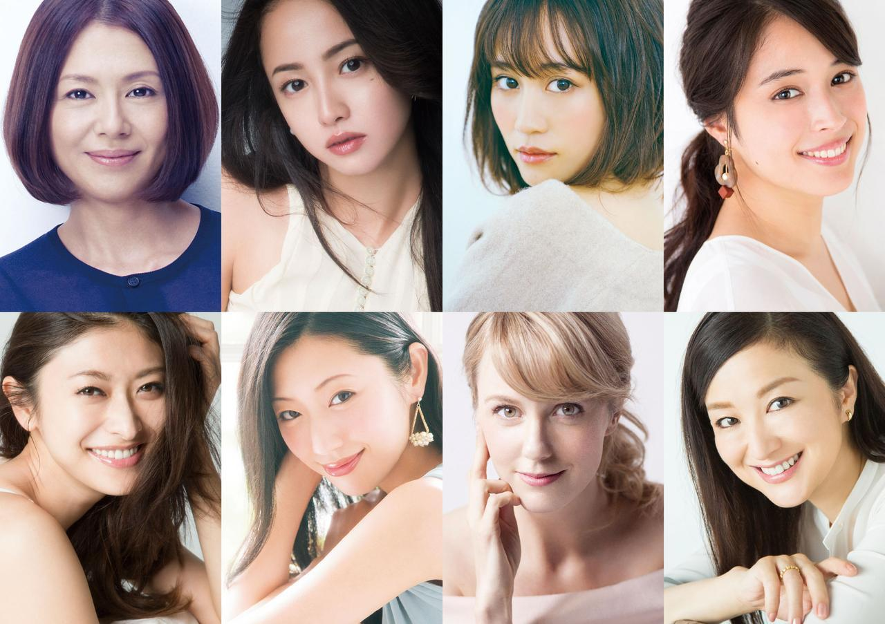 """画像: 人気と実力を兼ね備えた<今>を代表する8人の女優の""""夢""""の共演が実現!"""