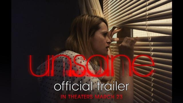 画像: UNSANE | Official Trailer | In theaters March 23 youtu.be