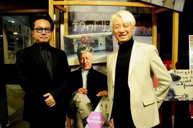 画像: 右より手塚眞(ヴィジュアリスト)、松崎健夫(映画評論家)