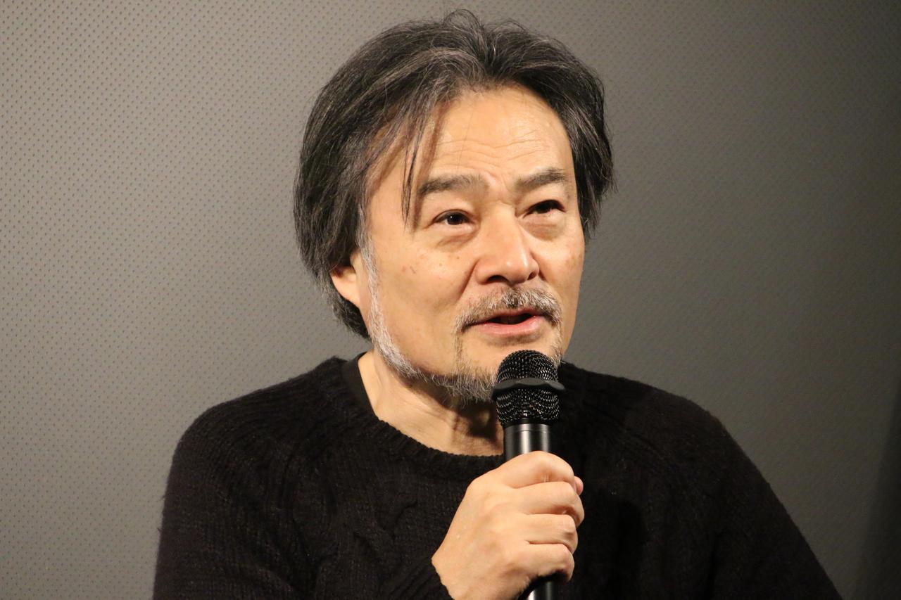 画像: ティーチインに答える黒沢清監督