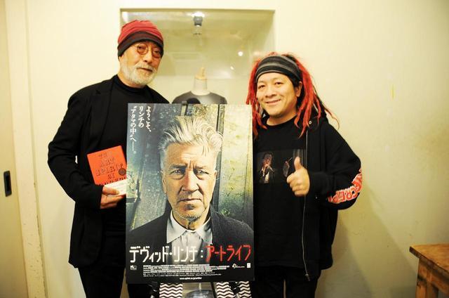 画像: 左より滝本誠(映画・美術評論家)、高橋ヨシキ(デザイナー、ライター)