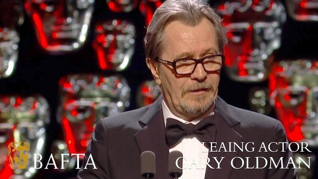 画像: Gary Oldman wins Leading Actor BAFTA - The British Academy Film Awards: 2018 - BBC One youtu.be
