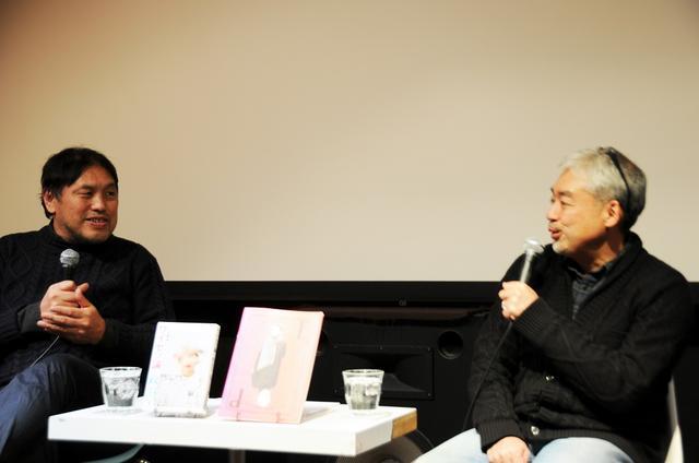 画像: 左より内藤篤( 弁護士 、 「シネマヴェーラ渋谷」館主 )、浅井隆(アップリンク代表)