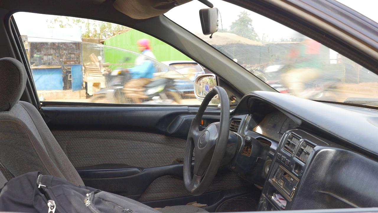 画像: アブドゥルさんの車