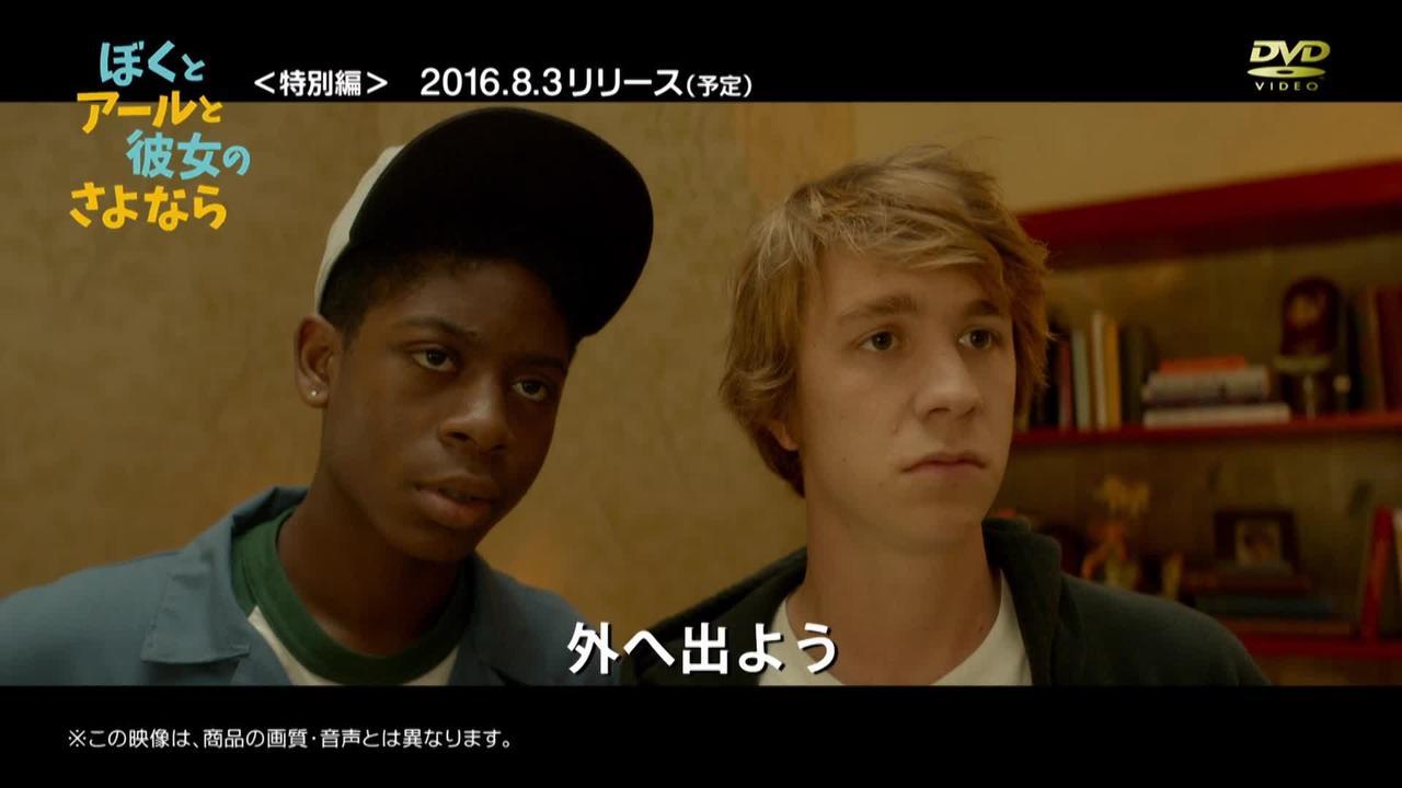 画像: 『ぼくとアールと彼女のさよなら』7.20先行デジタル配信/8.3DVDリリース youtu.be