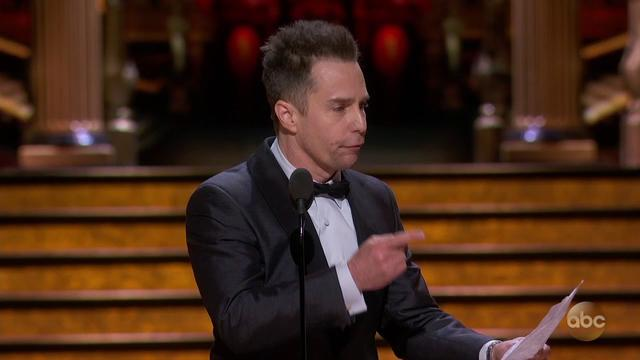 画像: Sam Rockwell's Acceptance Speech for Best Actor in a Supporting Role | 2018 Oscars youtu.be