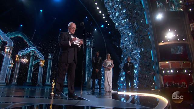画像: Watch James Ivory's Oscar 2018 Acceptance Speech for Writing (Adapted Screenplay) youtu.be