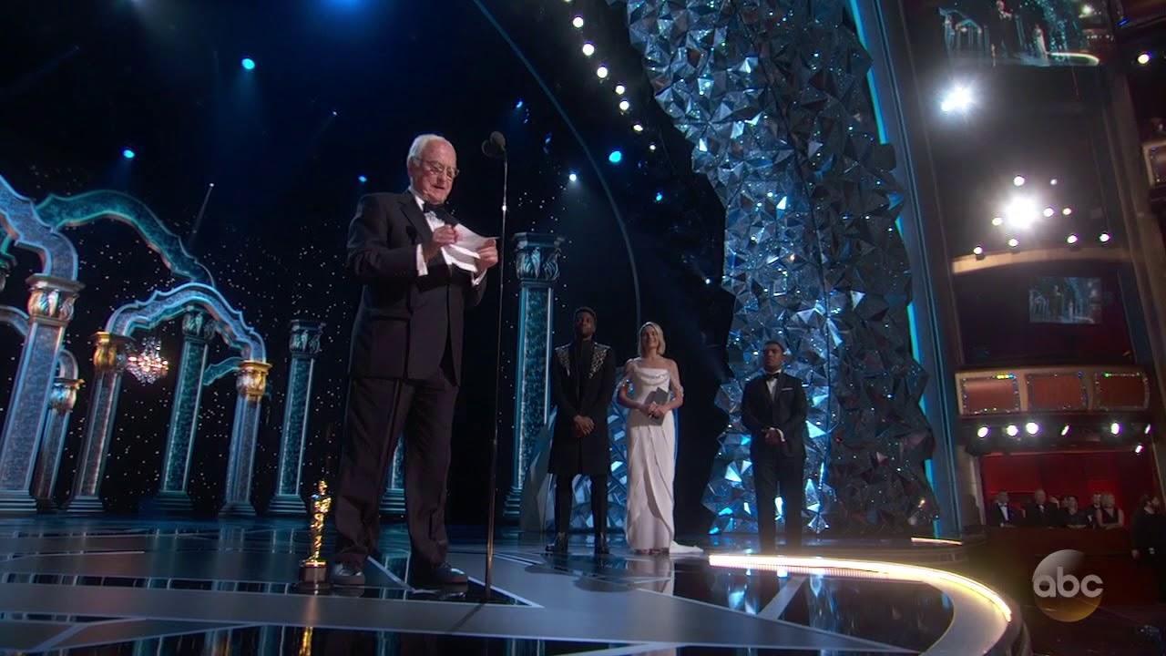 画像: Watch James Ivory's Oscar 2018 Acceptance Speech for Writing (Adapted Screenplay) youtu.be