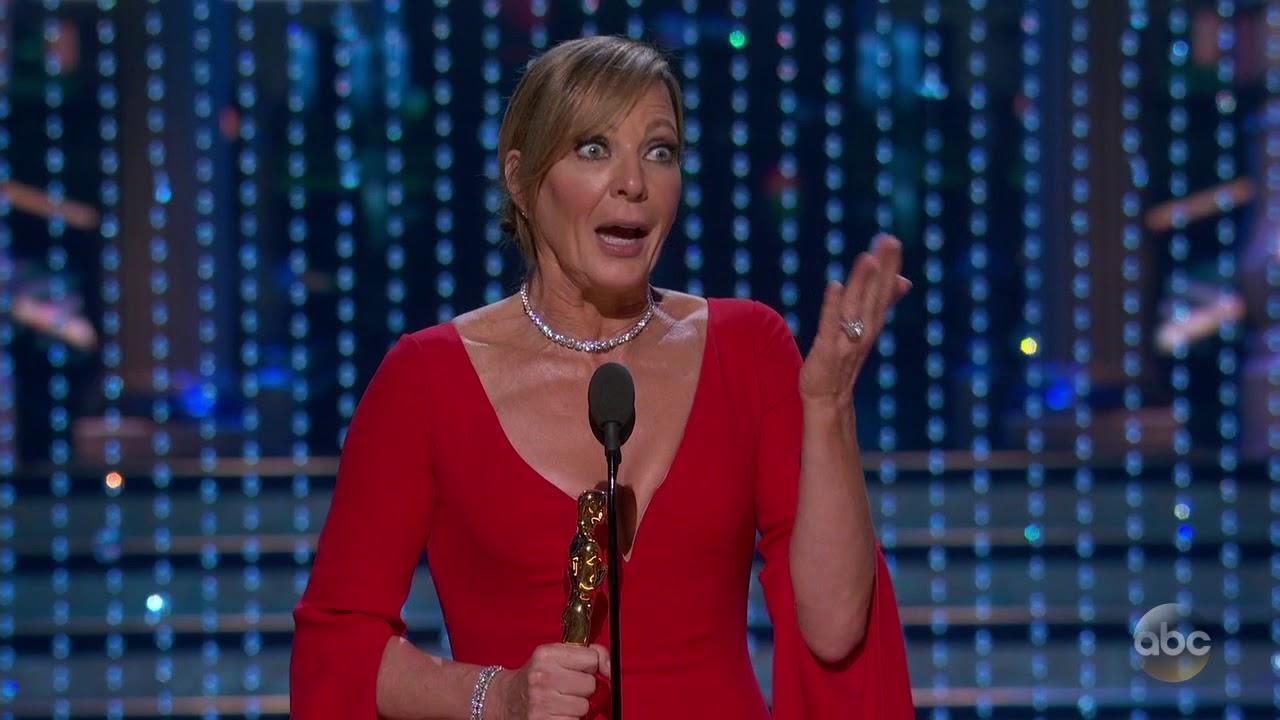 画像: Allison Janney's Oscar 2018 Acceptance Speech for Best Actress in a Supporting Role youtu.be