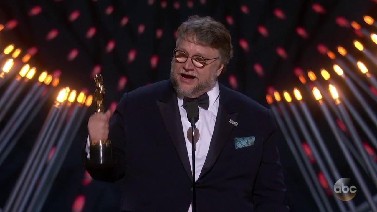 画像: Guillermo del Toro's Oscars 2018 Acceptance Speech for Best Directing youtu.be