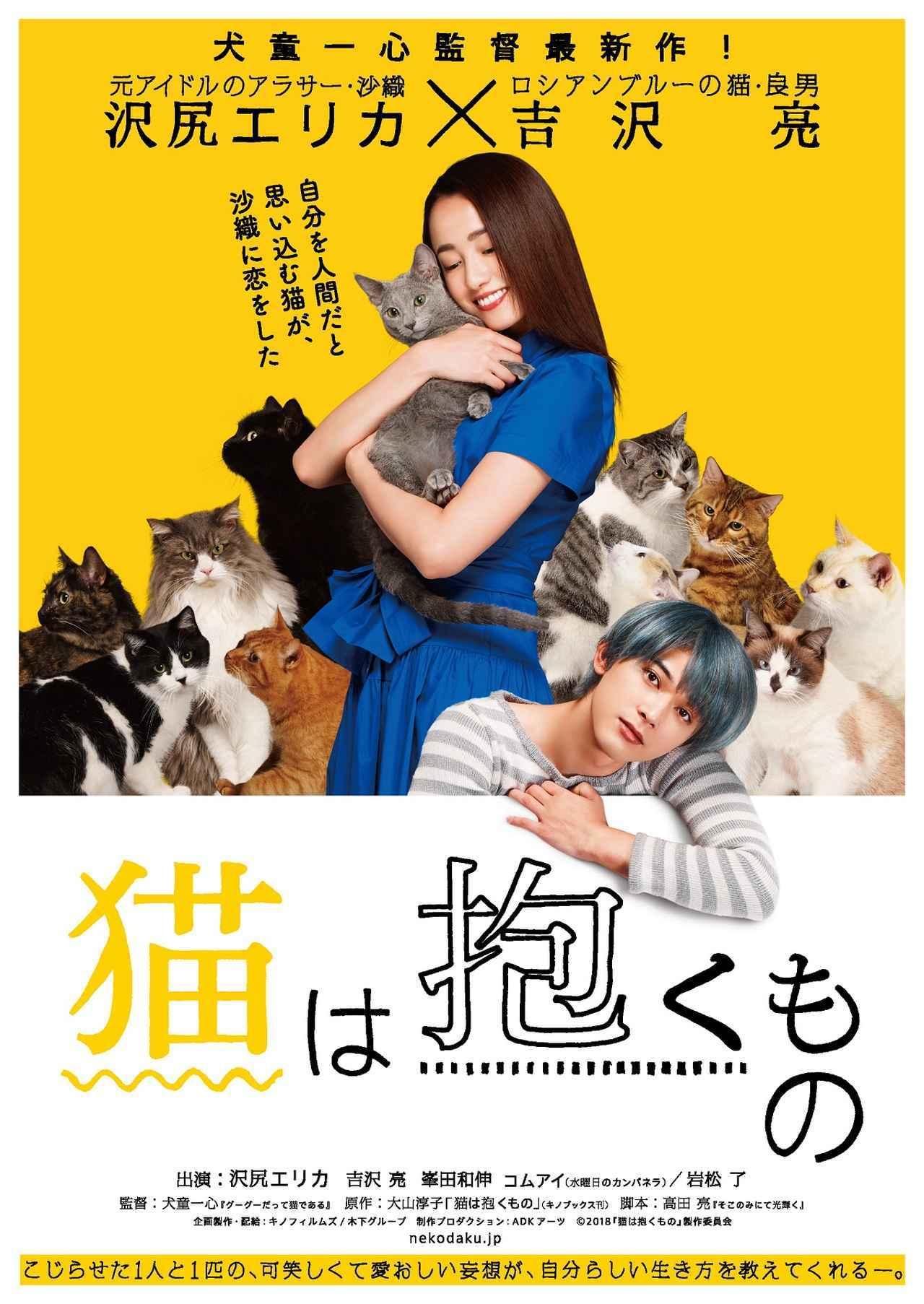 画像: ©2018「猫は抱くもの」製作委員会