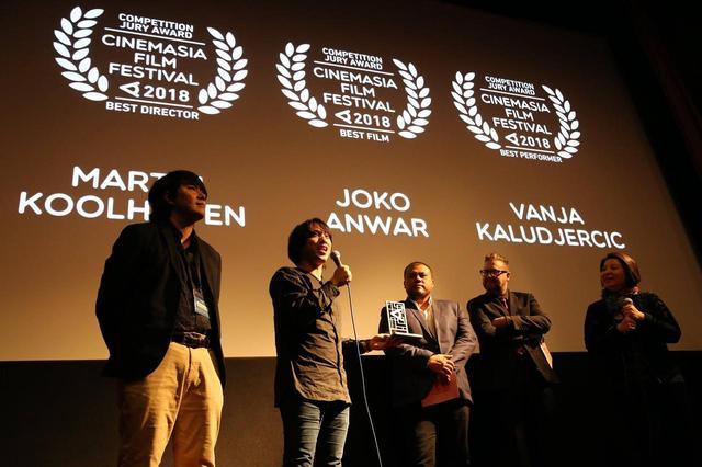 画像: シネマジア映画祭受賞式