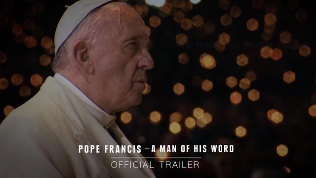 画像: POPE FRANCIS - A MAN OF HIS WORD – Official Trailer [HD] – In Theaters May 18 youtu.be