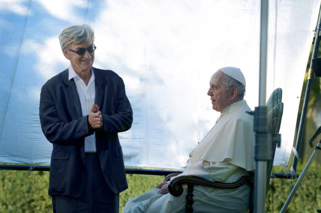 ヴィム ヴェンダース監督がローマ教皇フランシスコの活動に密着した