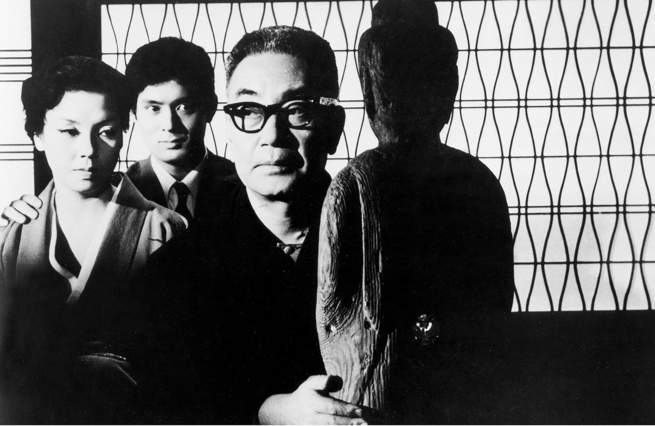 画像: Machiko Kyo (L), Tatsuya Nakadai (C), Ganjiro Nakamura (R) Credit: © 1959 KADOKAWA