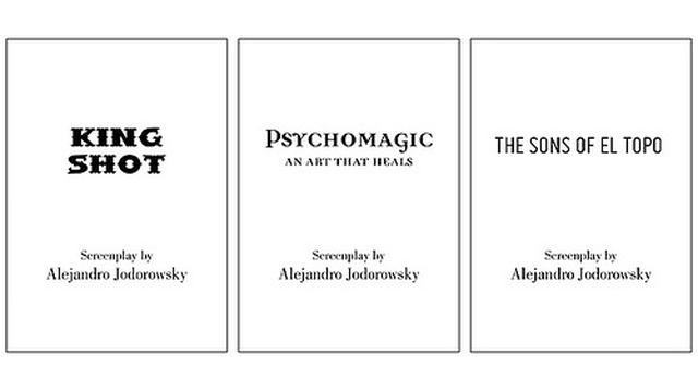 画像: 3冊のシナリオカバー