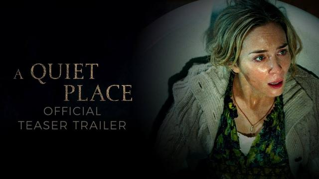 画像: A Quiet Place (2018) - Official Teaser Trailer - Paramount Pictures youtu.be