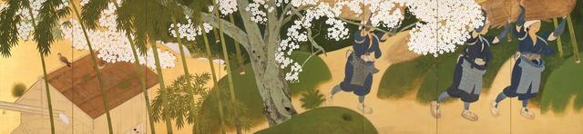 画像: 土田麦僊《大原女》1915(大正4)年 紗本金地・彩色 山種美術館