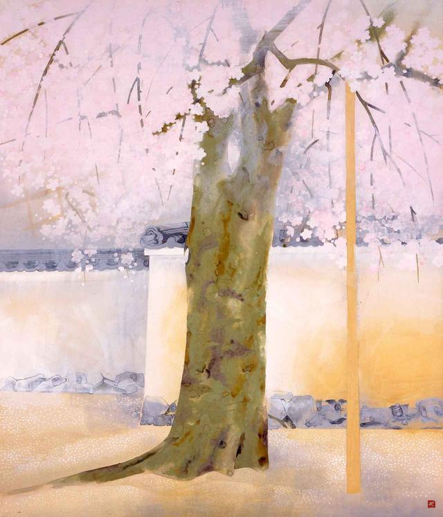 画像: 奥村土牛《醍醐》1972(昭和47)年 紙本・彩色 山種美術館