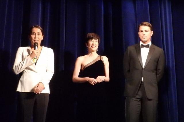 画像: 『オー・ルーシー!』ワールドプレミアの舞台挨拶 Photo by Yoko KIKKA