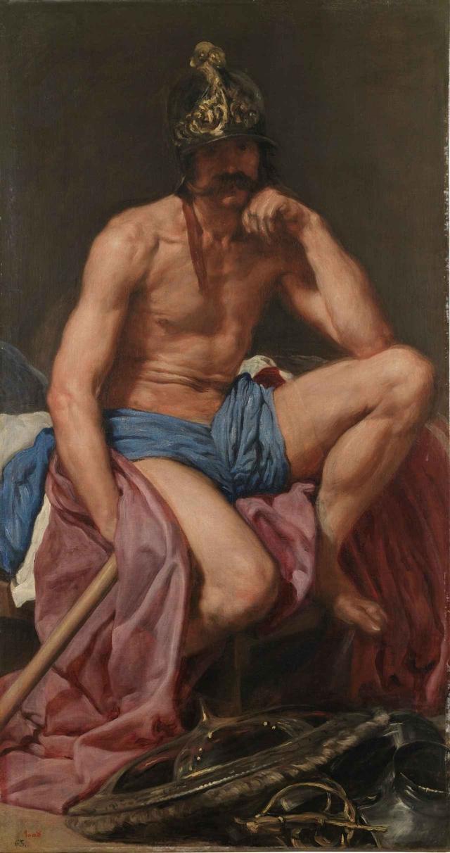 画像: ディエゴ・ベラスケス《マルス》 1638年頃 マドリード、プラド美術館蔵   © Museo Nacional del Prado