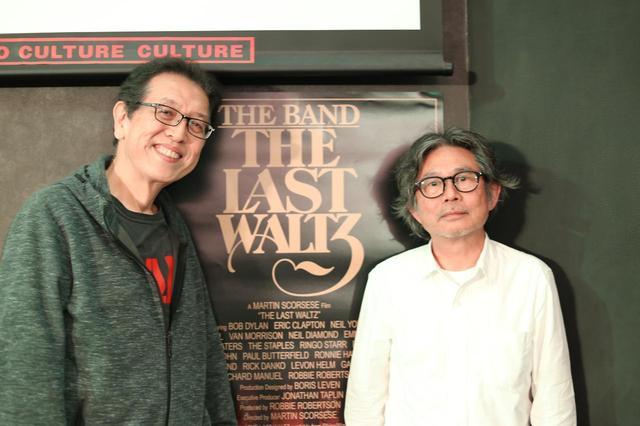 画像2: 左より萩原健太氏 (音楽評論家) 天辰保文氏 (音楽評論家)