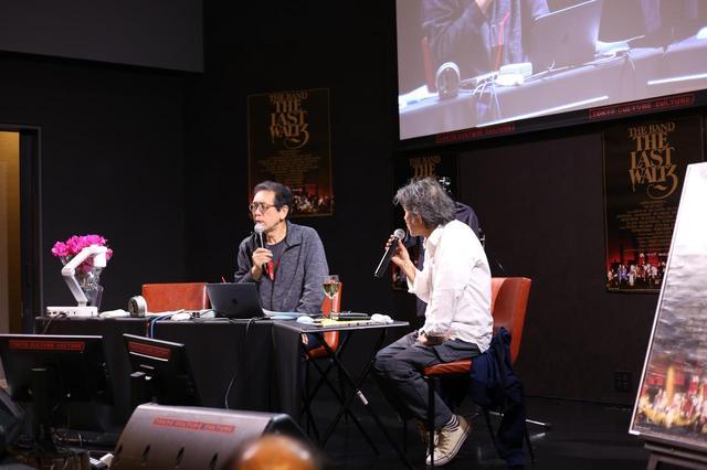 画像1: 左より萩原健太氏 (音楽評論家) 天辰保文氏 (音楽評論家)