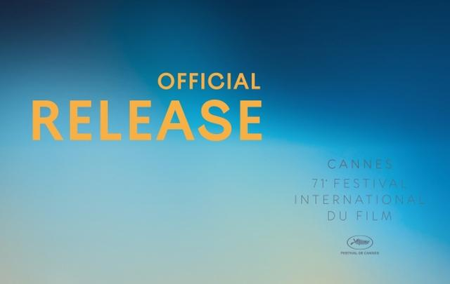 画像: Press Release of the Festival de Cannes