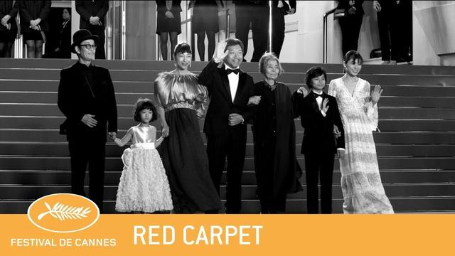 画像: MANBIKI KAZOKU - Cannes 2018 - Red Carpet - EV youtu.be
