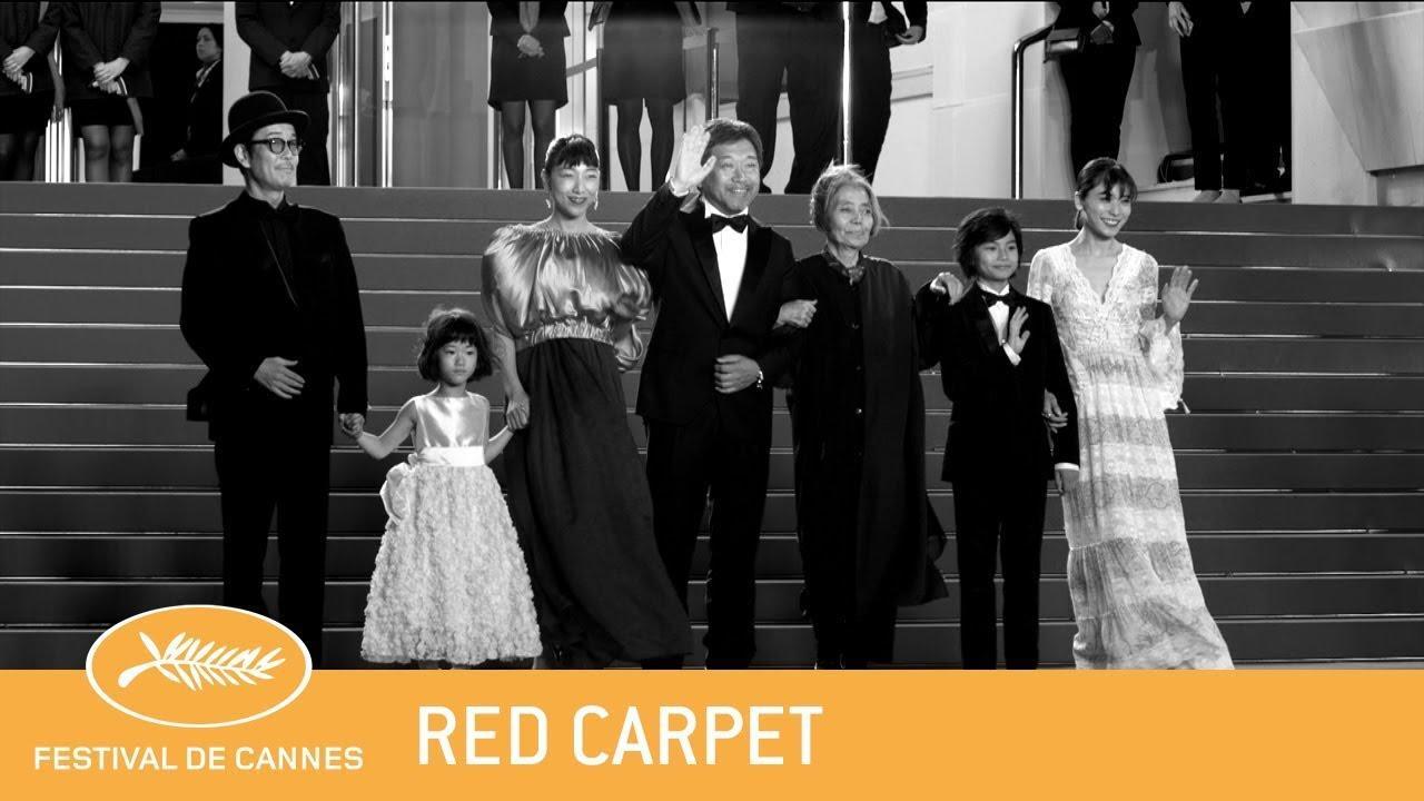 画像: MANBIKI KAZOKU - Cannes 2018 - Red Carpet - EV youtu.be
