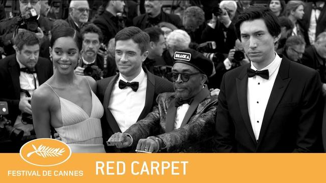画像: BLACKKKLANSMAN - Cannes 2018 - Red Carpet - EV youtu.be