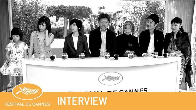 画像: MANBIKI KAZOKU - Cannes 2018 - Interview - EV youtu.be