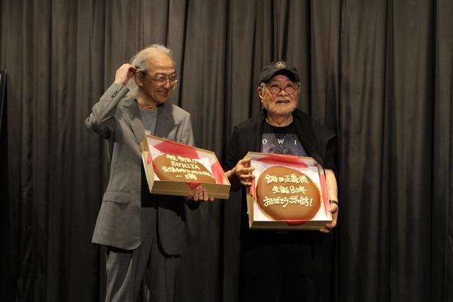 画像: 左より立川直樹氏、鋤田正義氏