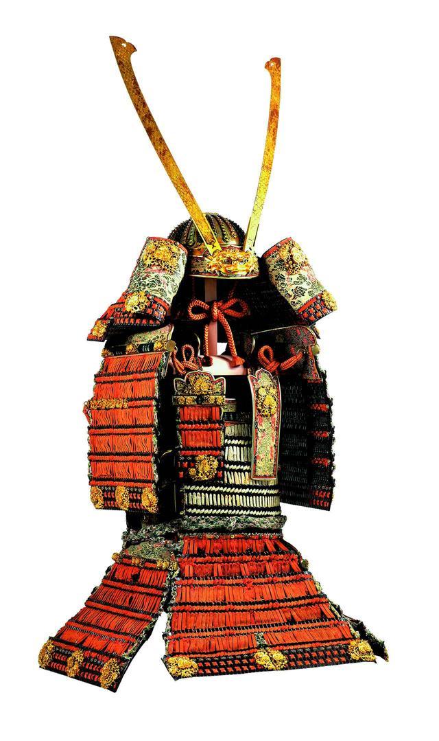 画像: 国宝 赤糸威大鎧(梅 鶯 飾)(春日大社)