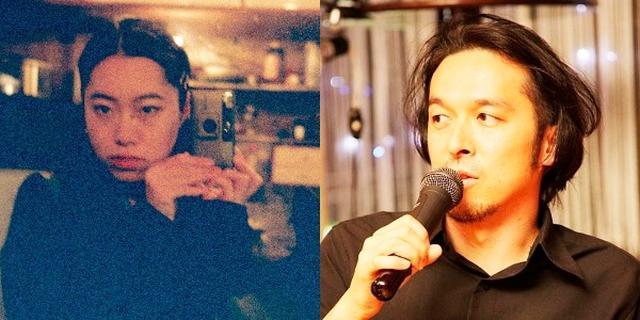 画像: 左よりUMMMI. さん (アーティスト/映像作家)、金子遊 (批評家/映像作家)