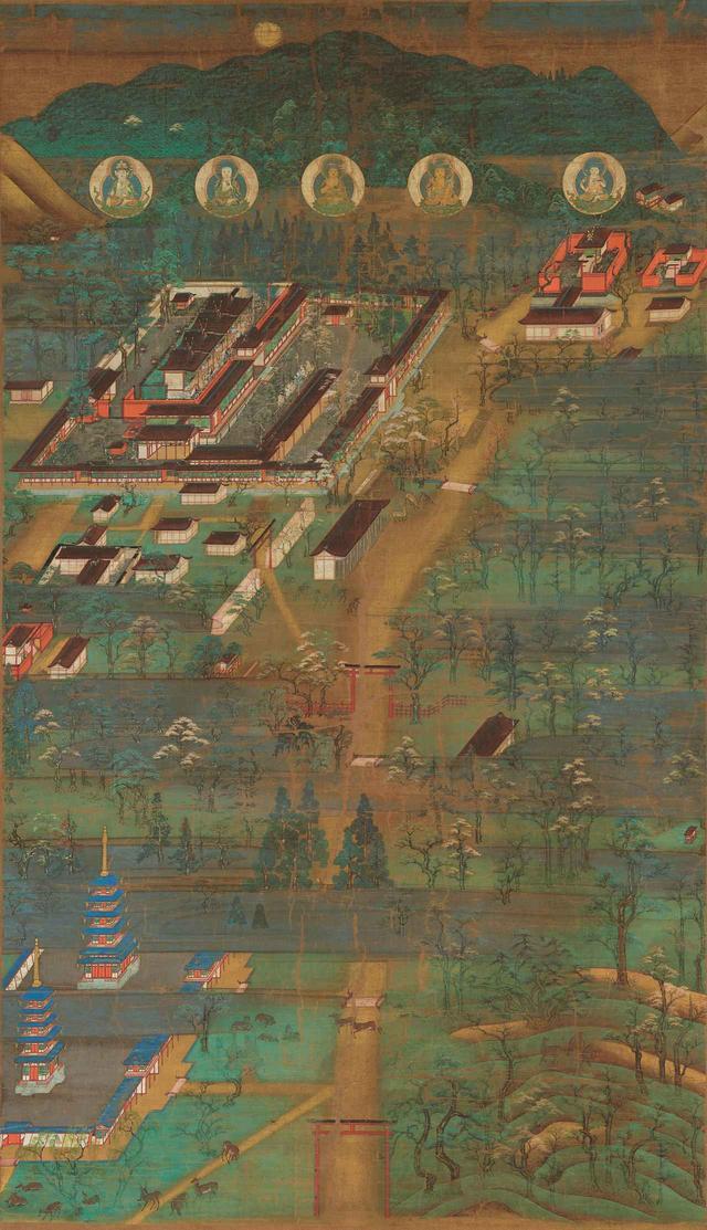 画像: 重要文化財 春日宮曼荼羅(奈良・南市町自治会)