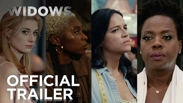 画像: Widows | Official Trailer [HD] | 20th Century FOX youtu.be