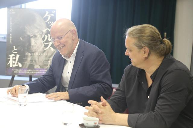 画像: クリスティアン・クレーネスとフロリアン・ヴァイゲンザマー 『ゲッペルスと私』監督 インタビュー