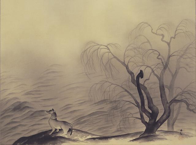 画像: 「風蕭々兮易水寒」  1955年、横山大観、名都美術館蔵  東京展:5月8日~5月27日 京都展:6月8日~7月1日